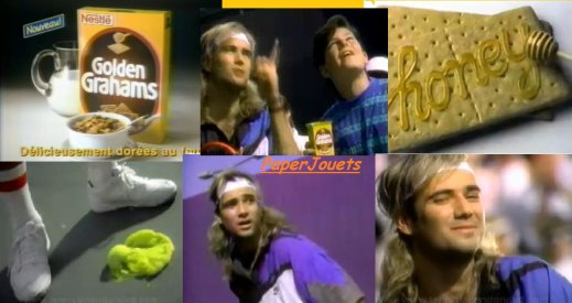 PUB 90's___c�r�ales GOLDEN GRAHAMS  (1992)