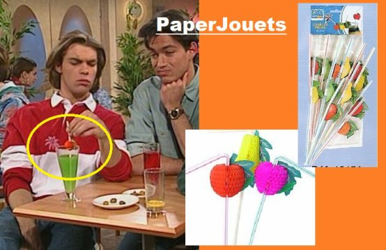 "LES PAILLES ""FRUITS""... (fin 80's/d�but 90's)"
